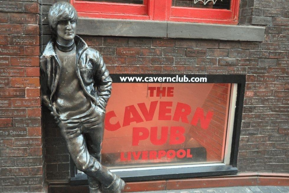 O Cavern Club foi o primeiro bar onde os Beatles começaram a tocar antes mesmo de se tornarem os Beatles, em Liverpool. Foto: Rubinho Vitti