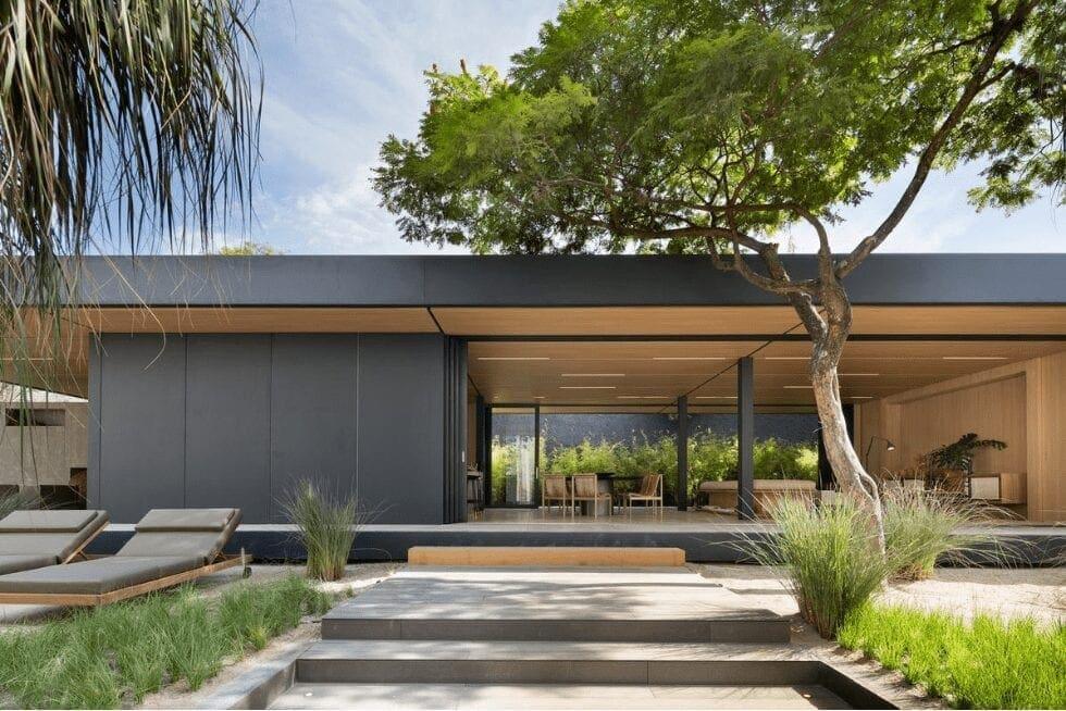 Menos tempo, melhor espaço: Casa moderna e ecológica pronta em poucos meses