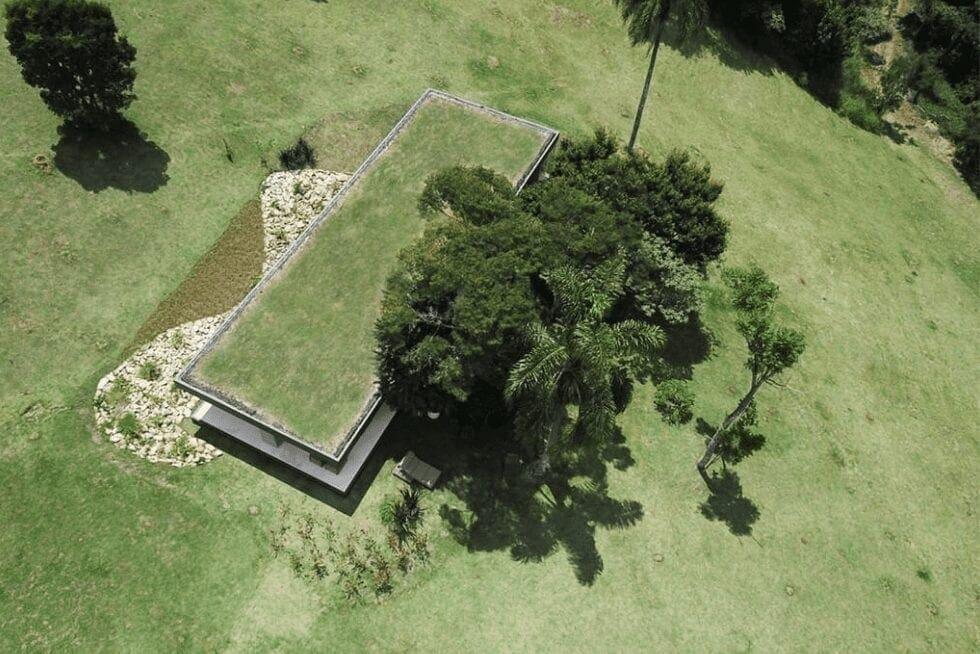 Telhado verde da SysHaus